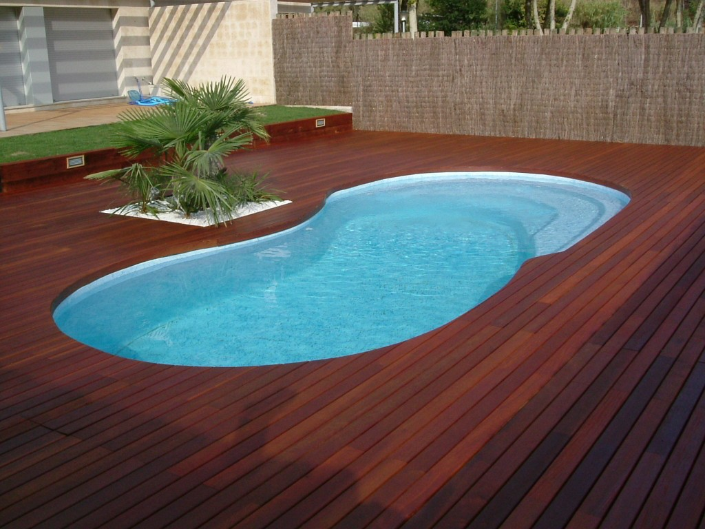 Protección de madera para jardines y piscinas – Pinturas Arnau